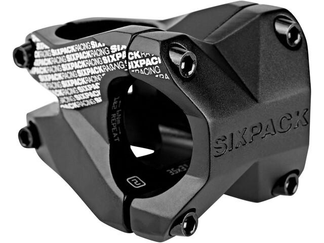 Sixpack Menace Styrestem Ø31,8 mm Svart